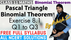 Binomial Theorem Lecture 1