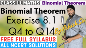 Binomial Theorem Lecture 2