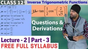 2. Inverse Trigonometric Functions 4