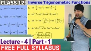2. Inverse Trigonometric Functions 9