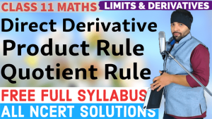 Limits and Derivatives Lecture 8