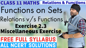 Relation and Functions Lecture 3