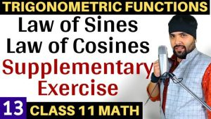 Trigonometric Functions Lecture 13