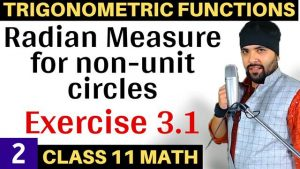 Trigonometric Functions Lecture 2