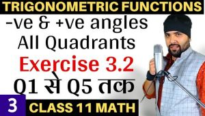 Trigonometric Functions Lecture 3