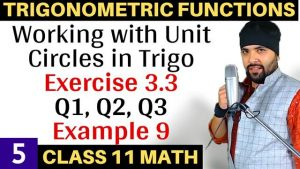 Trigonometric Functions Lecture 5