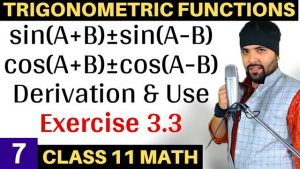 Trigonometric Functions Lecture 7