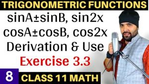 Trigonometric Functions Lecture 8