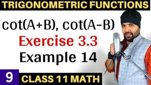 Trigonometric Functions Lecture 9
