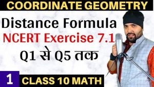 Coordinate Geometry Lecture 1