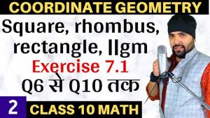 Coordinate Geometry Lecture 2