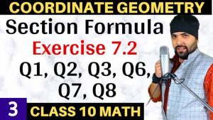 Coordinate Geometry Lecture 3