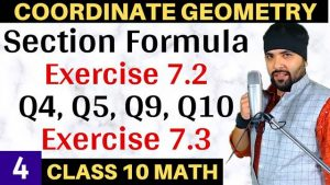Coordinate Geometry Lecture 4
