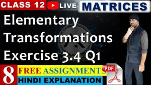 Matrices Lecture 8