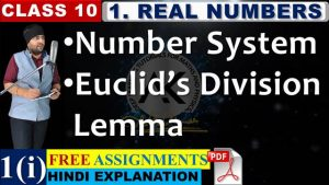 Real Numbers Lecture 1 Part 1