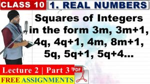 Real Numbers Lecture 2 Part 3