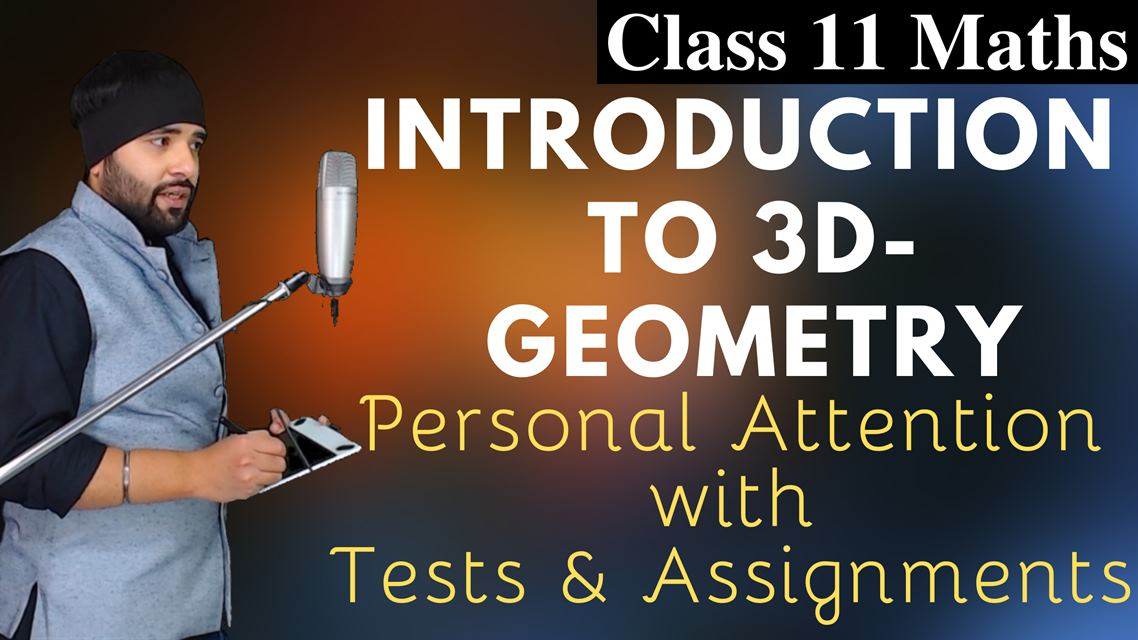 Introduction to 3D Geometry Class 11 Maths