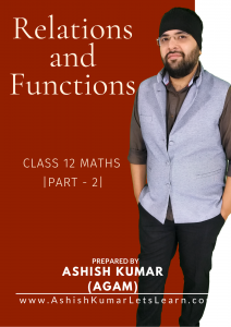 Relations and Functions - Part -20