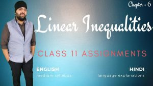Linear Inequalities Assignments CLass 11 Maths 1200px