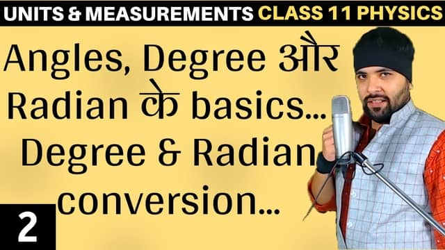 Chapter 2 Units and Measurement Lecture 2