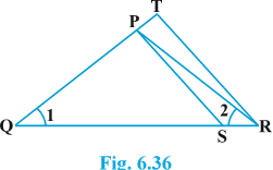 Class 10 triangles exercise 6.3 Question 4 figure